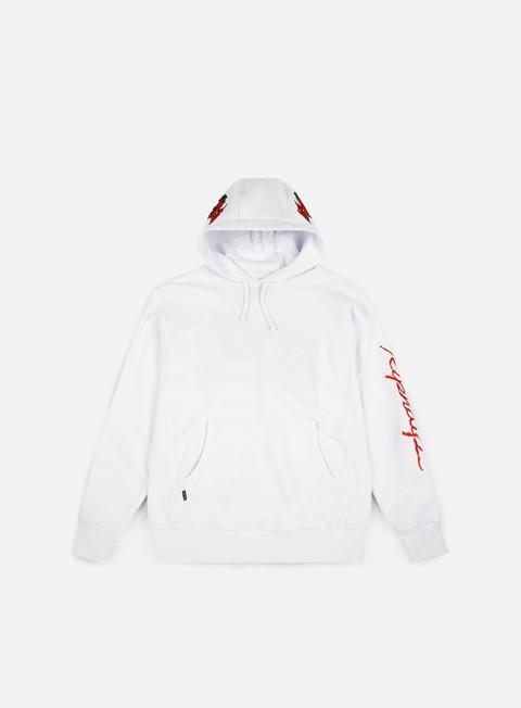 felpe rip n dip dead rose hoodie white