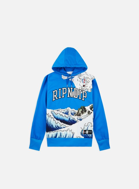 Hooded Sweatshirts Rip N Dip Great Wave Hoodie