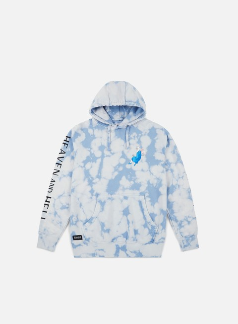 felpe rip n dip heaven and hell hoodie cloud wash