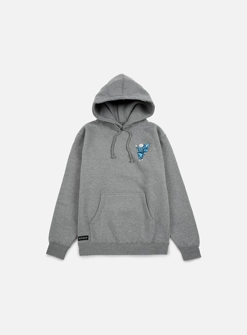 felpe rip n dip holy nermal hoodie grey