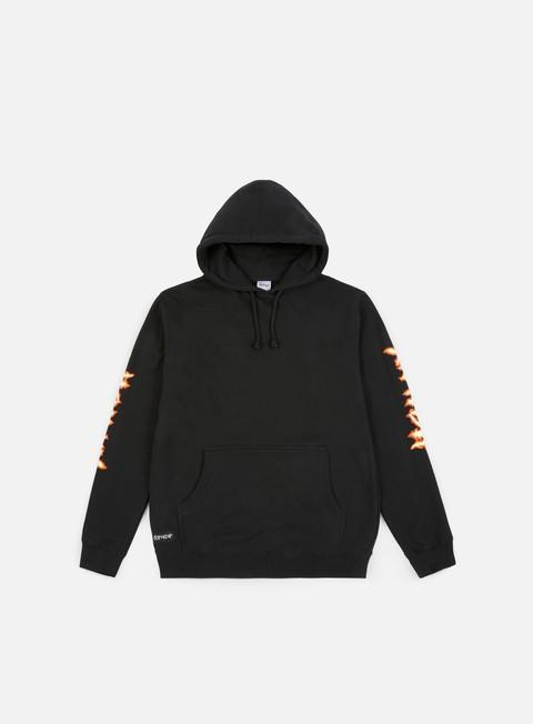 felpe rip n dip inferno hoodie black