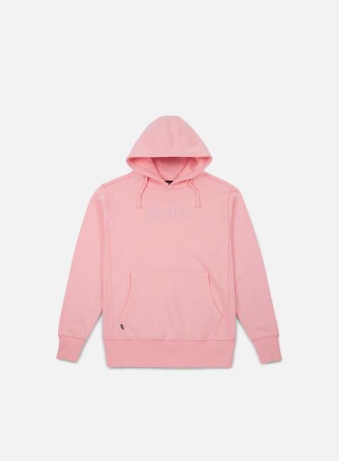 felpe rip n dip logo hoodie pink