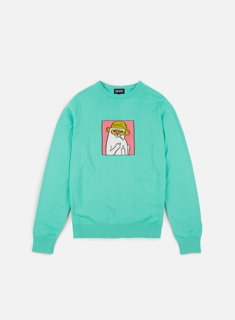 felpe rip n dip nermal s thompson crewneck sweater clay