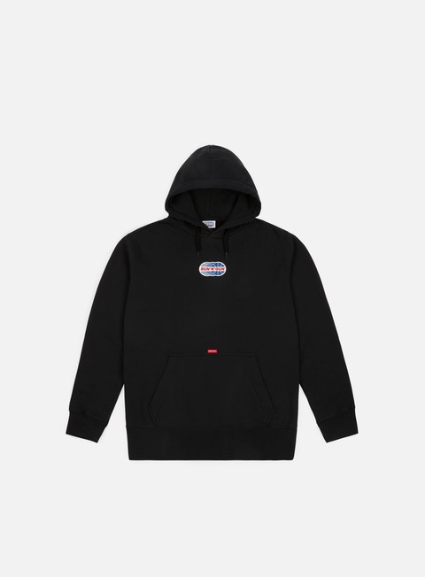 felpe run n gun full color logo hoodie black