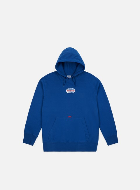 felpe run n gun full color logo hoodie royal