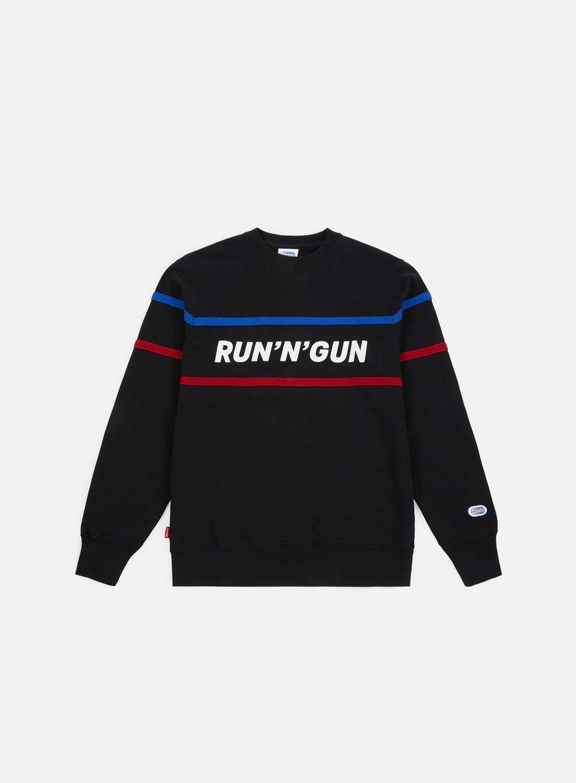 Run'N'Gun Horizontal Stripe Crewneck