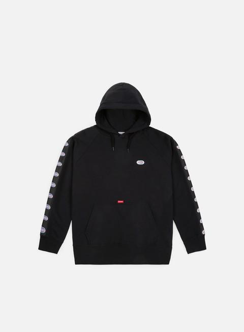 felpe run n gun logo tape hoodie black