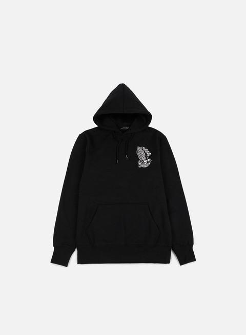 felpe santa cruz bone guadalupe hoodie black