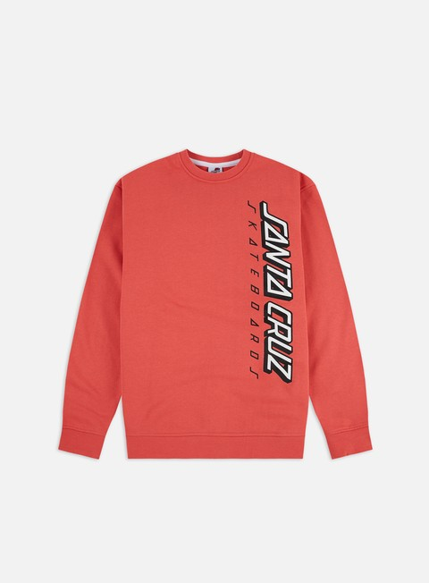 Felpe Logo Santa Cruz Colour Strip 2 Crewneck