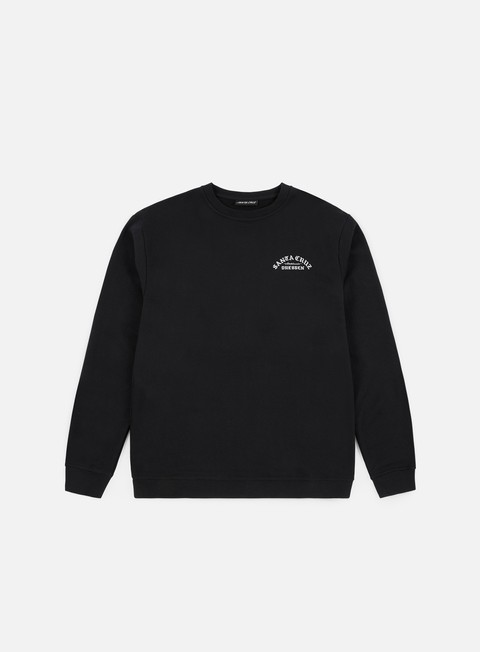 Santa Cruz Dressen Rose Cross Crewneck