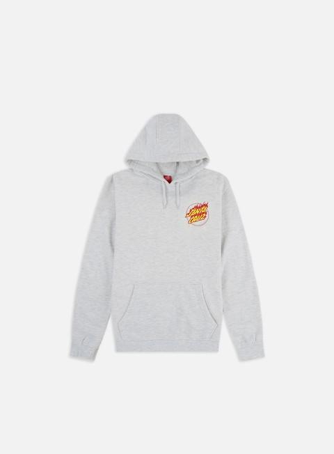 Hooded Sweatshirts Santa Cruz Flame Hand Hoodie