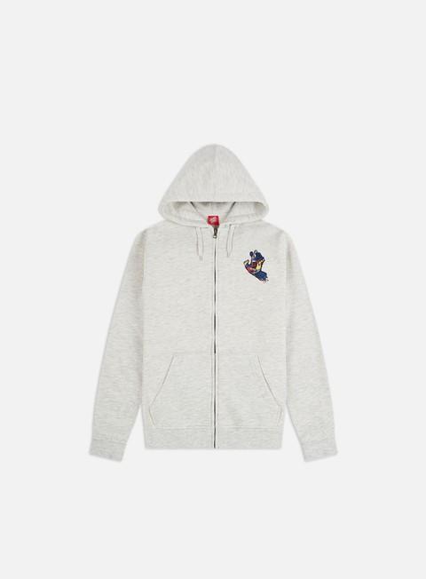 Hooded Sweatshirts Santa Cruz Primary Hand Zip Hoodie