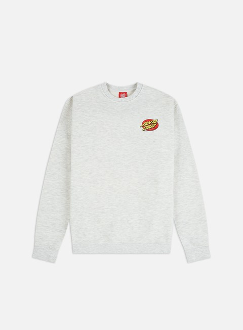 Crewneck Sweatshirts Santa Cruz Slashed Crewneck