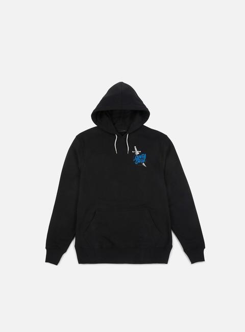 felpe santa cruz tattoo hand hoodie black