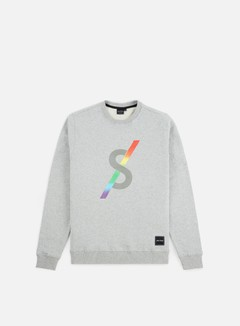 Spectrum - Monogram II Crewneck, Light Grey