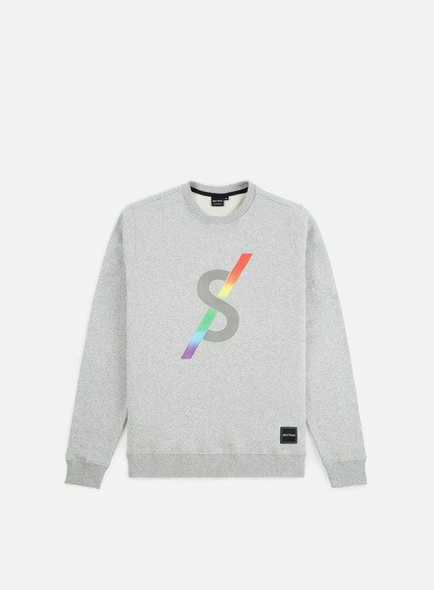 felpe spectrum monogram ii crewneck light grey