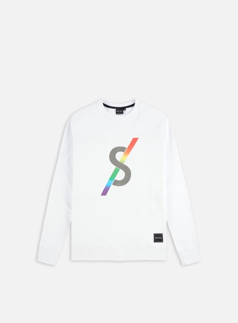felpe spectrum monogram ii crewneck white