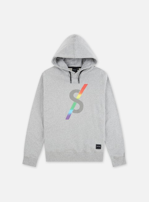felpe spectrum monogram ii hoodie light grey