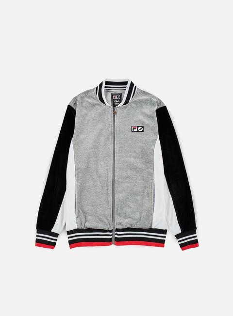 Zip hoodie Staple Fila Colorblocked Velour Jacket