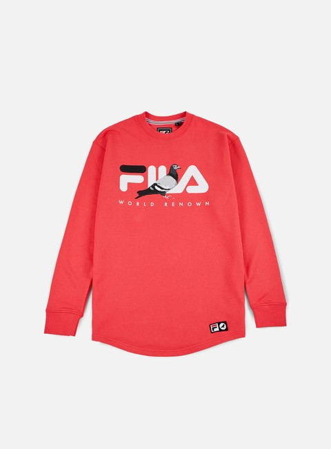 Crewneck Sweatshirts Staple Fila Loopback Crewneck