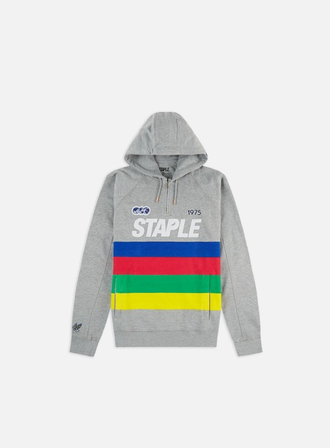 Hooded Sweatshirts Staple Grand Prix Half Zip Hoodie