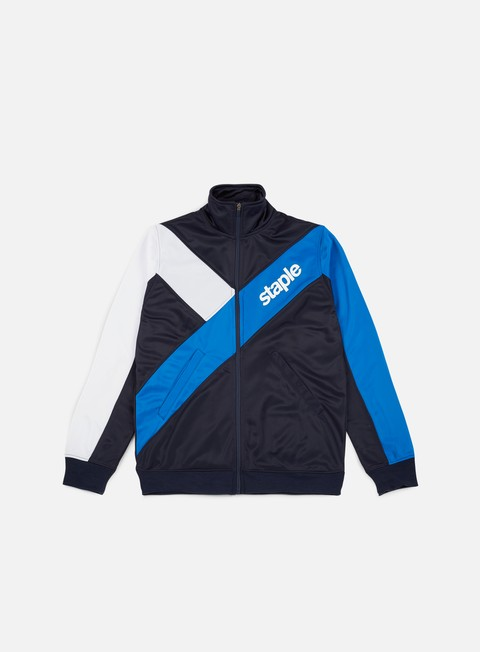 felpe staple logo track jacket royal