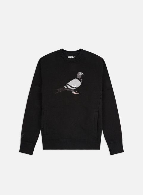Crewneck Sweatshirts Staple Pigeon Embroidered Crewneck