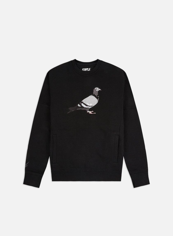 Staple Pigeon Embroidered Crewneck