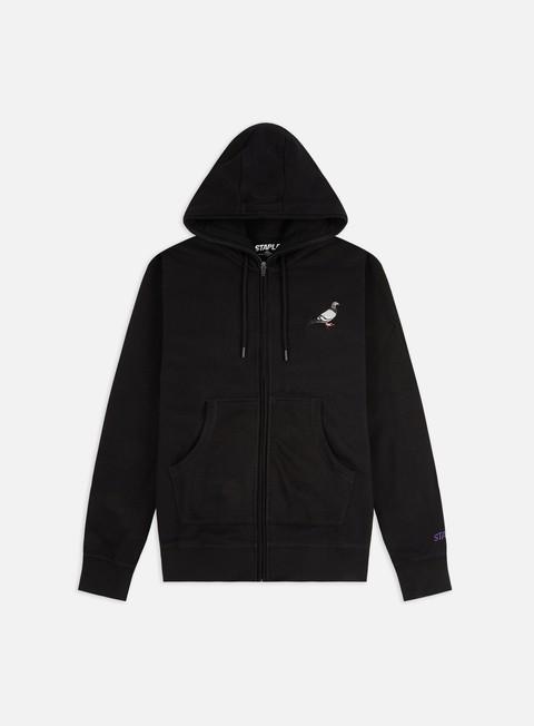 Felpe Logo Staple Pigeon Full Zip Hoodie