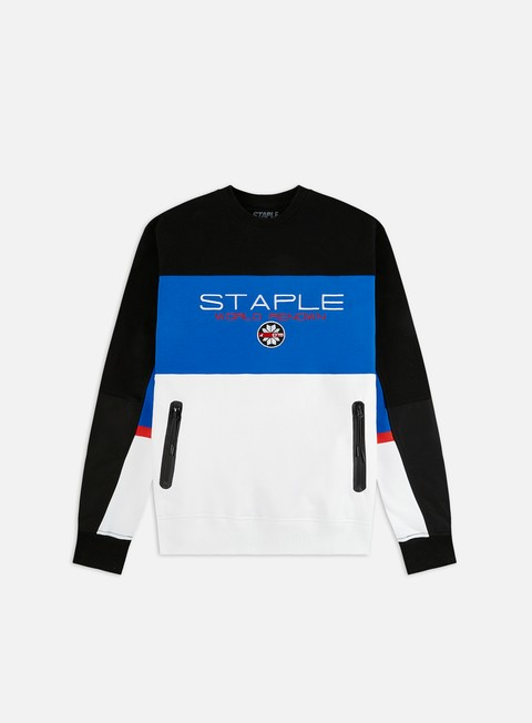 Outlet e Saldi Felpe Girocollo Staple Ski Crewneck
