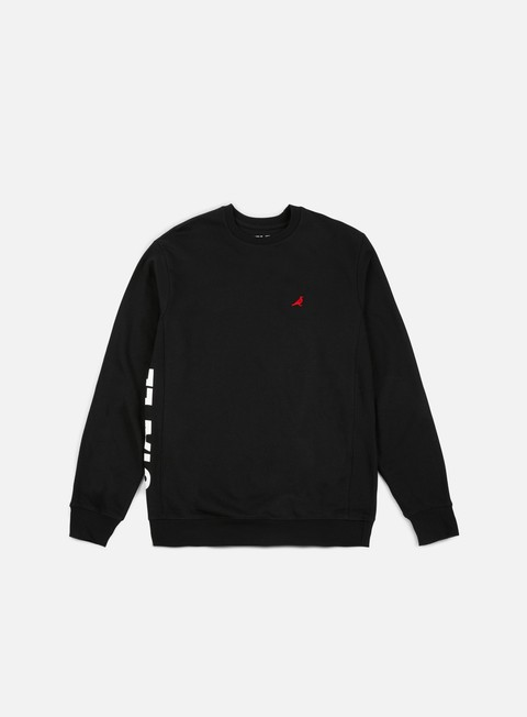 felpe staple tech logo crewneck black