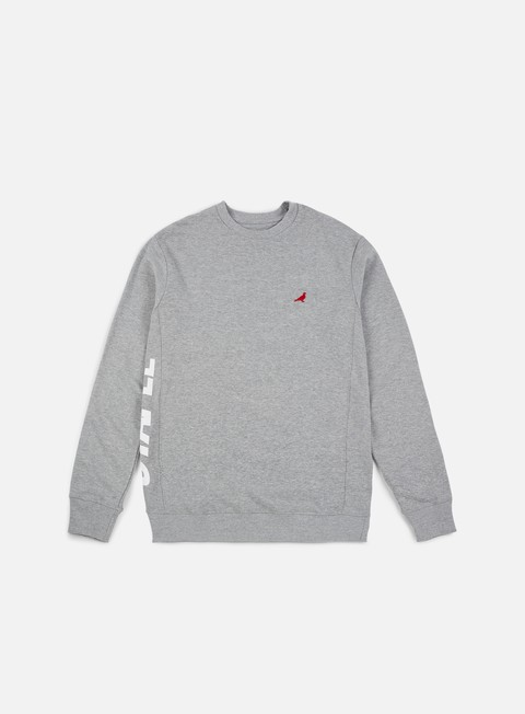 felpe staple tech logo crewneck heather grey