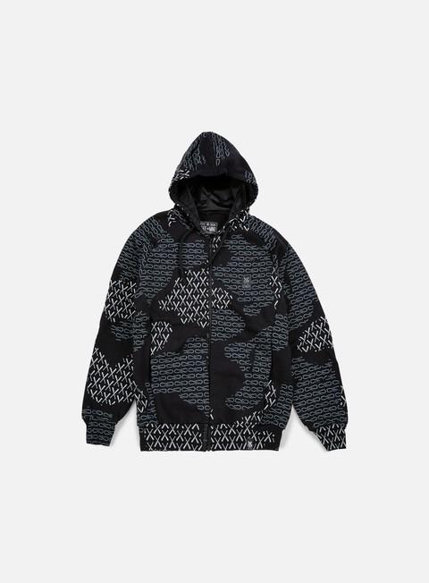 felpe state of mind camo 5om propaganda hoodie black