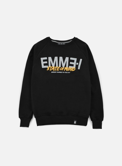 felpe state of mind emme i celebration iii crewneck black