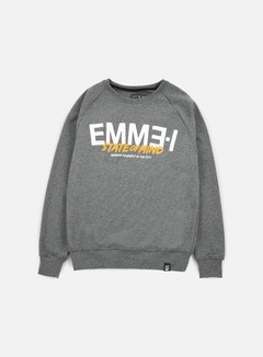 State Of Mind - Emme-I Celebration III Crewneck, Dark Heather Grey 1