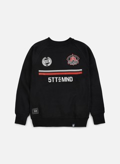 State Of Mind - Miracles Football Crewneck, Black 1