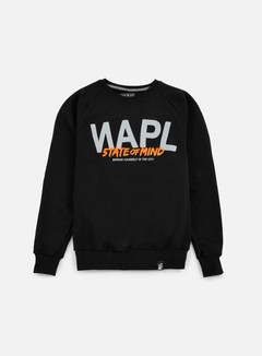 State Of Mind - Napl Celebration III Crewneck, Black