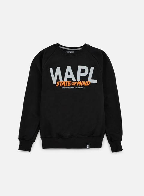 felpe state of mind napl celebration iii crewneck black
