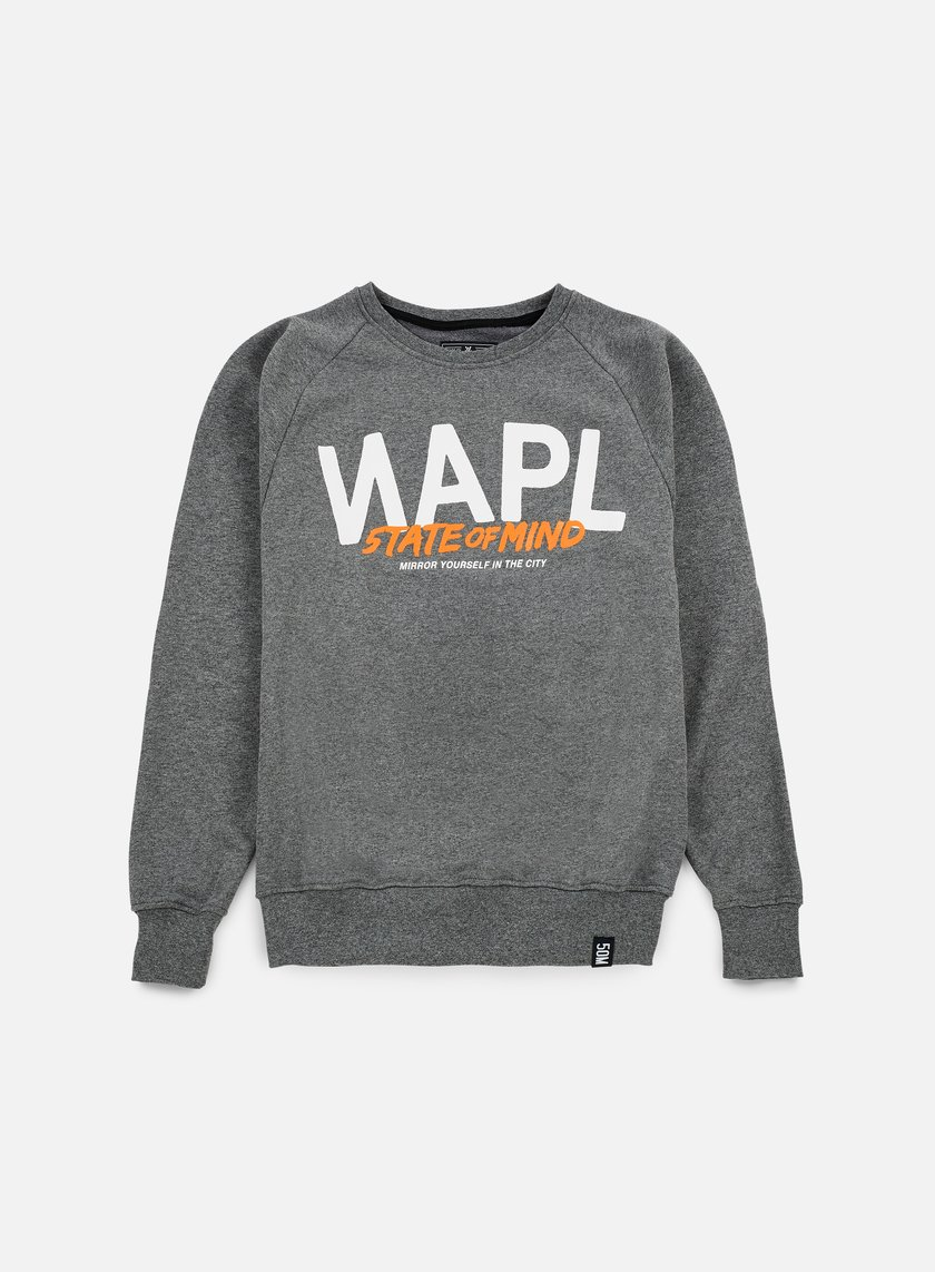 State Of Mind - Napl Celebration III Crewneck, Dark Grey Heather