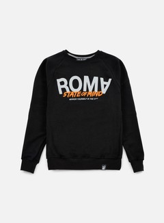 State Of Mind - Roma Celebration III Crewneck, Black 1