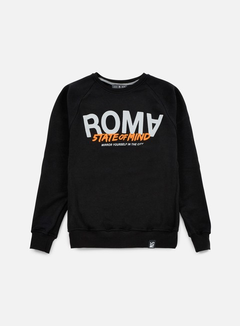 felpe state of mind roma celebration iii crewneck black