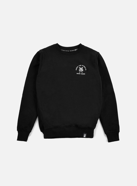 felpe state of mind vendetta crewneck black