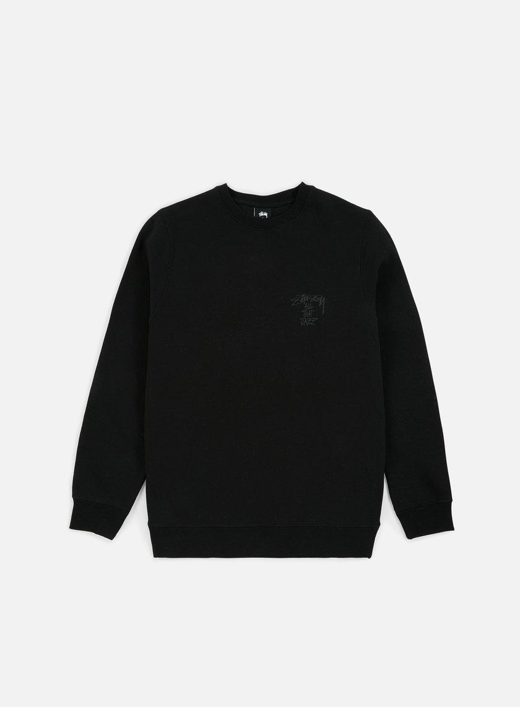 e7231143f STUSSY All That Jazz Crewneck € 94 Crewneck Sweatshirts
