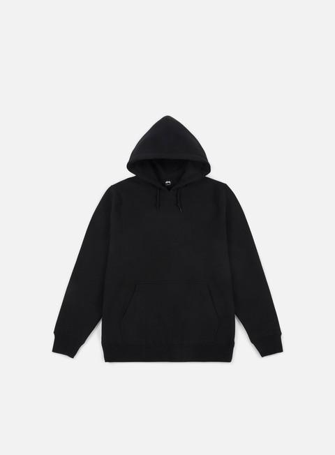 felpe stussy arch applique hoodie black