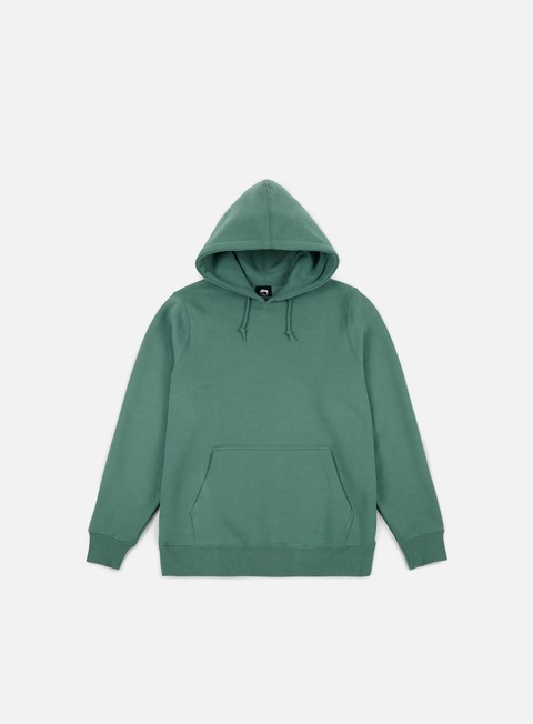 felpe stussy arch applique hoodie sage