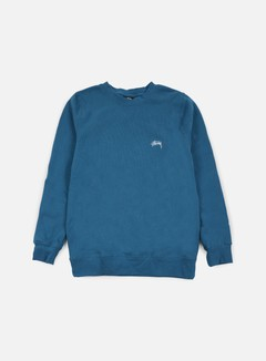 Stussy - Back Arc Crewneck, Blue 1