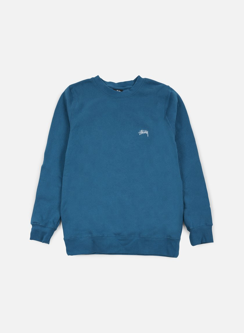 Stussy - Back Arc Crewneck, Blue