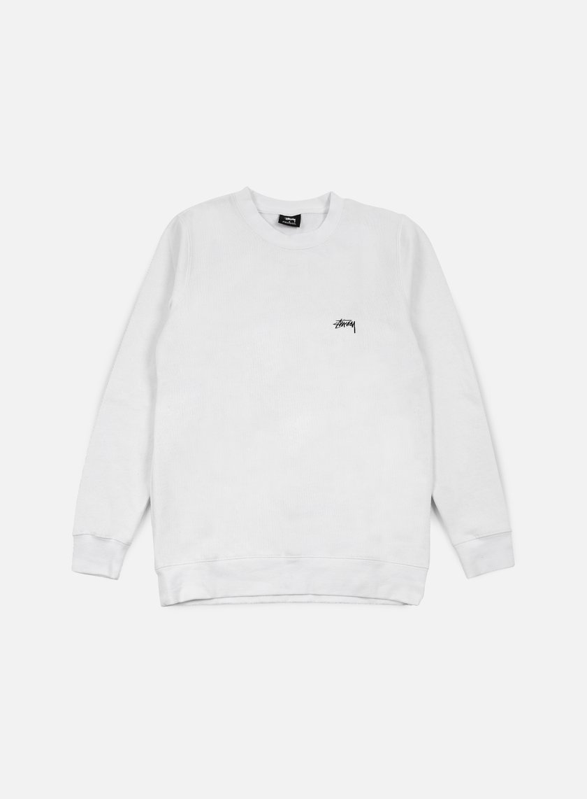 Stussy - Back Arc Crewneck, White