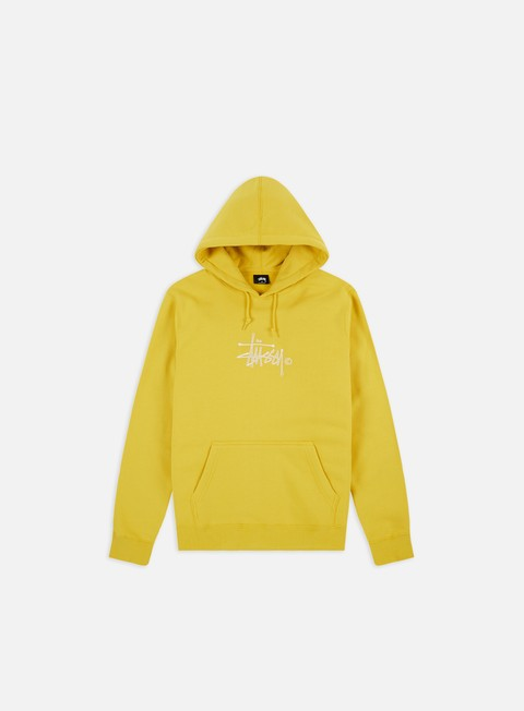 Hooded Sweatshirts Stussy Basic Copyright Applique Hoodie