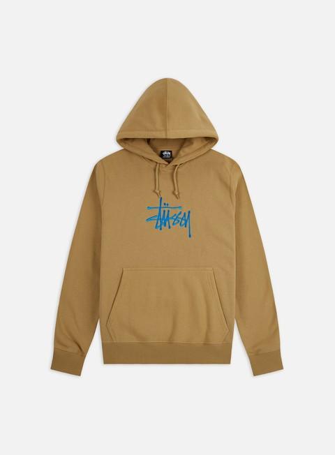 Hooded Sweatshirts Stussy Basic Stussy Applique Hoodie